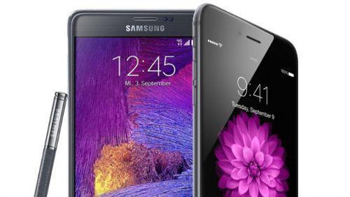 Exynos işlemcili Galaxy Note 4 ve iPhone 6 test karşılaştırması
