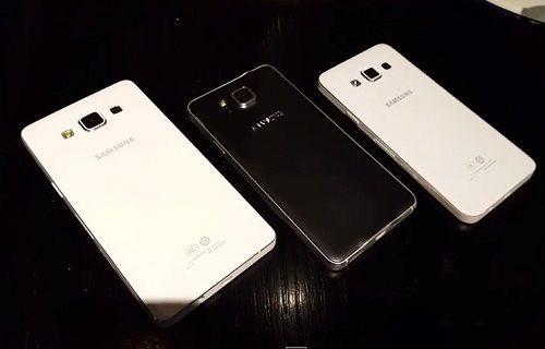 Galaxy Alpha, Galaxy A5 ve Galaxy A3 aynı videoda