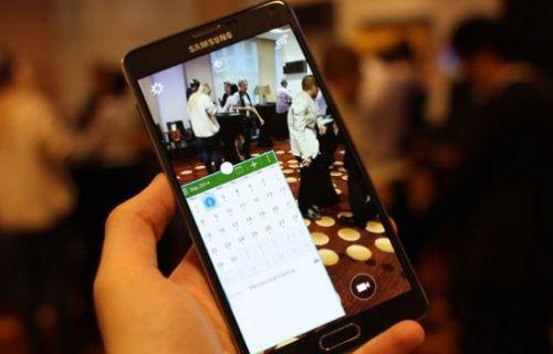 Samsung Galaxy Note 4'ün çoklu görev (Multitasking) yetenekleri sergilendi! [Video]