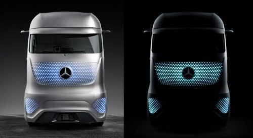 İşte Geleceğin Kamyon'u Mercedes Future Truck 2025 (Video)