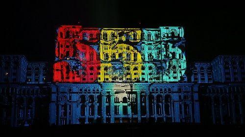 Panasonic projektörler Bükreş'in kuruluş yıldönümü kutlamalarına damga vurdu!