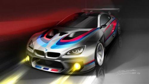 BMW'nin yeni bombası M6 GT3'ün ilk görüntüleri geldi