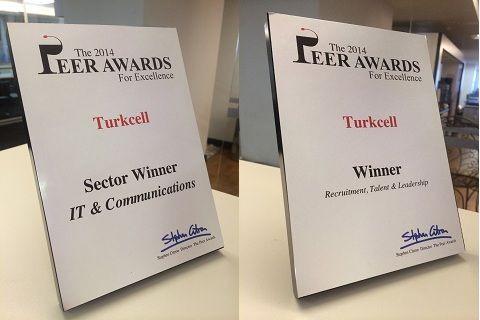 TURKCELL'in Y kuşağına yönelik işe alım projesine iki uluslararası ödül