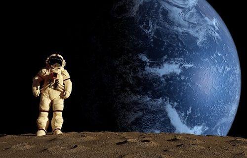 Astronotun kamerasından Dünya...