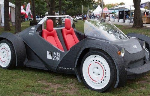 3D yazıcı ile üretilen otomobil test sürüşüne çıktı! [Video]