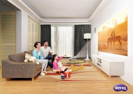 BenQ ile ailece evde sinema keyfi başlıyor