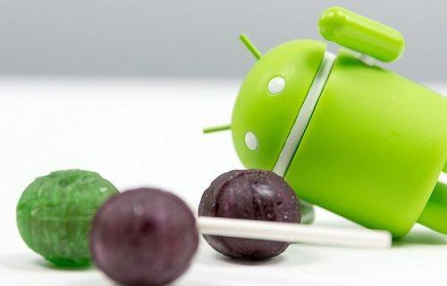 Android 5.0 Lollipop'un duvar kağıtları ve zil seslerini indirin