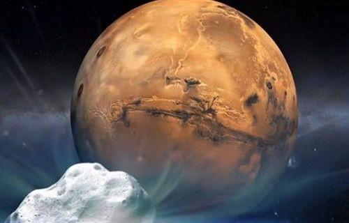 Mars yakınlarından kuyruklu yıldız geçecek