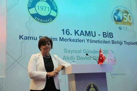 16. TBD Kamu Bilişim Merkezleri Yöneticileri Birliği Toplantısı Antalya'da Gerçekleşti