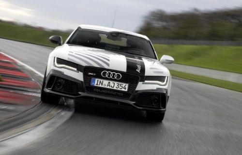 Audi RS7 Concept, test sürüşünde Hockenheim pistini sürücüsüz tamamladı! [Video]