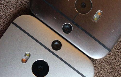 One M8 - One M8 Eye kamera karşılaştırması (Ultrapiksel-Megapiksel)
