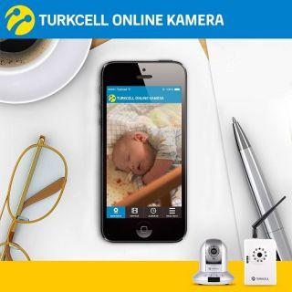 Turkcell Kamera Servisi ile anne babalar bebeklerinin hep yanında