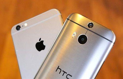 iPhone 6 - HTC One M8 hız karşılaştırması