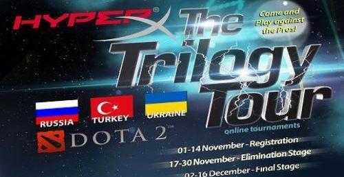 HyperX Trilogy Dota turnuvasında Ruslara ve Ukraynalılar'a meydan okuyoruz