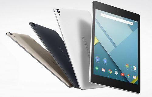 HTC Nexus 9, Google Play'de satışa sunuldu