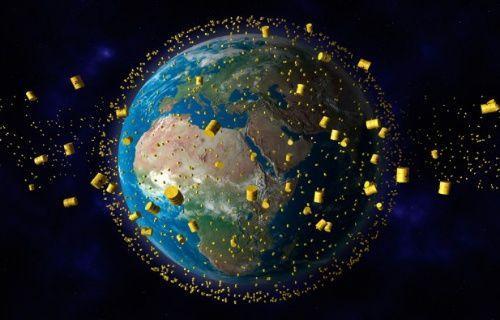 Uzaydaki çöpler lazer ışınlarıyla temizlenecek!