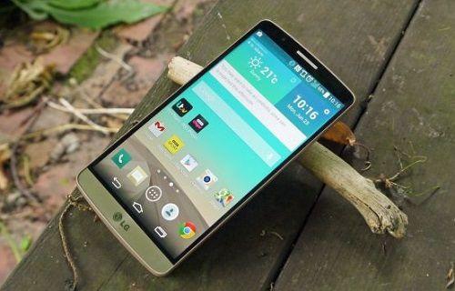 Android 5.0 yüklü LG G3'e ait ilk görüntüler geldi