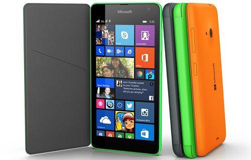 Karşınızda Microsoft markalı ilk telefon: Lumia 535