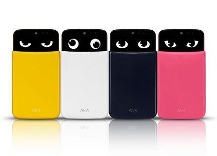 LG'nin en çılgın akıllı telefonu LG AKA tanıtıldı