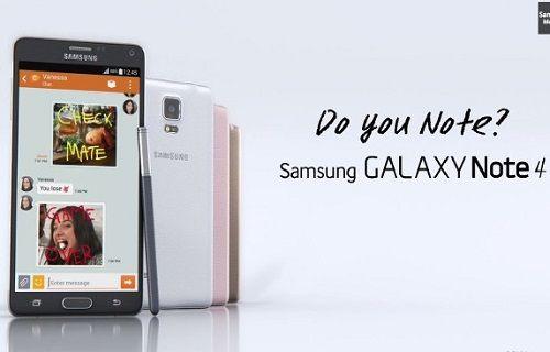 Galaxy Note 4 için yeni video reklamlar yayınlandı