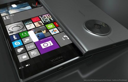Windows Phone 10 ve PruView kameralı Lumia 1030'un konsept çalışması