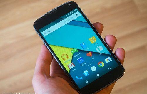 Nexus 4'ün Android 5.0 fabrika imaj dosyaları yayınlandı