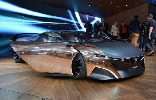 Peugeot Onyx, otomobil tutkunlarını büyüledi!