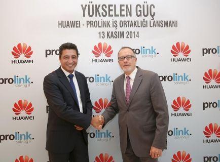 Prolink, Huawei Distribütörü Oldu