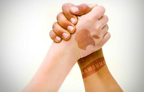 Samsung ve Apple'dan dev ortaklık