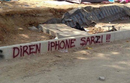 iPhone Şarjı için şiir yazıldı!
