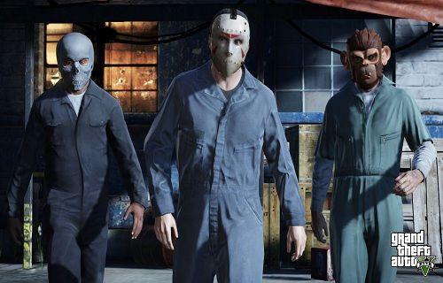 Grand Theft Auto V için silahlı soygun düzenlendi
