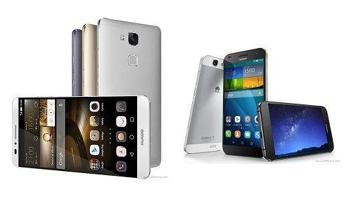 Huawei Ascend Mate 7 ve Ascend G7'yi tanıtımından canlı anlatım