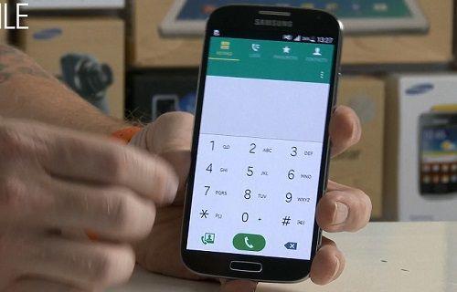 Android 5.0 yüklü yeni bir Galaxy S4 videosu yayınlandı