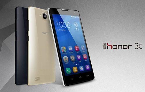 Huawei'in satış rekorları kıran telefonu Honor 3C Avrupa'da!