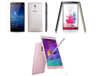 Samsung Galaxy Note 4, LG G3 ve Oppo Find 7 fotoğraf karşılaştırma testi