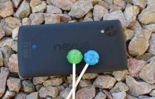 Anket: Android 5.0 Lollipop güncellemesini OTA üzerinden mi aldınız?
