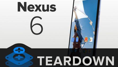 Google Nexus 6 parçalara ayrıldı