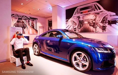 Gear VR ile sanal ortamda Audi TT S Coupé sürüş deneyimi!