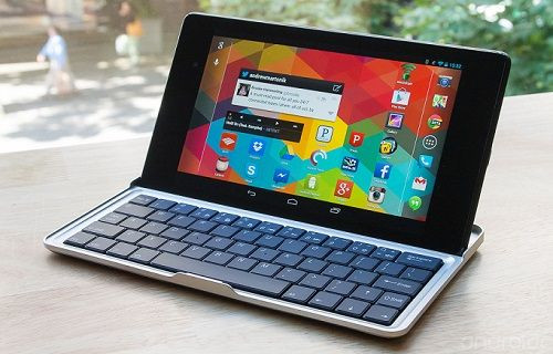 Nexus 9'a özel klavye aksesuarı Google Play'de listelendi