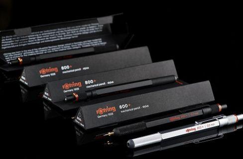 Kurşun kalemin, Stylus kaleme dönüşmesi rOtring 800+ ile mümkün
