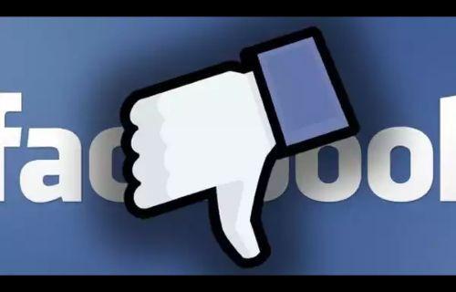 Facebook artık gözden düştü!