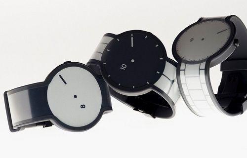 Sony'nin e-kağıt kullanılan akıllı saati görüntülendi