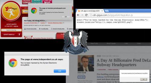 Yemeksepeti , Ferrari ve bir çok web sitesi hacklendi!