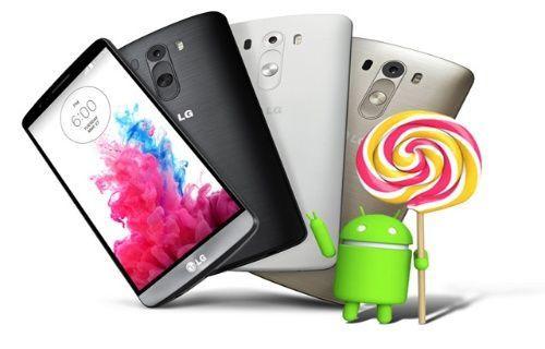 LG G3 için Android 5.0 güncellemesi Avrupa'da dağıtıma sunuldu