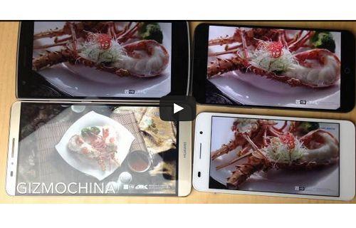 Oneplus One, Huawei Honor 6, Huawei Ascend Mate 7, Meizu MX4'ün 4K video performansı.