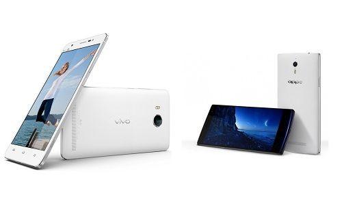 Vivo XShot ve Oppo Find 7 fotoğraf karşılaştırma