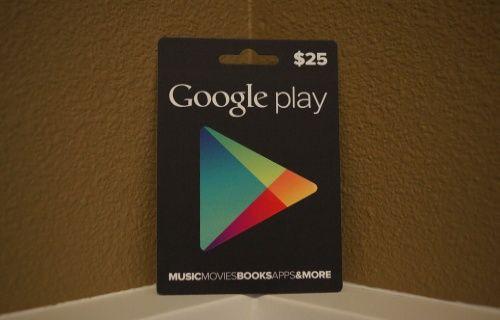 Google Play hediye kartları Türkiye'ye geliyor!