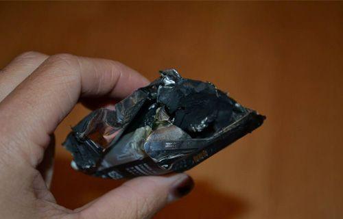 Samsung Galaxy Ace II  patladı!
