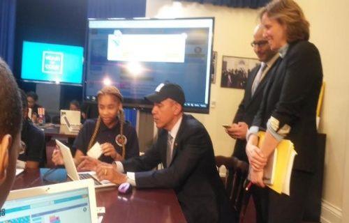 ABD Başkanı Barack Obama bilgisayar programı yazdı!