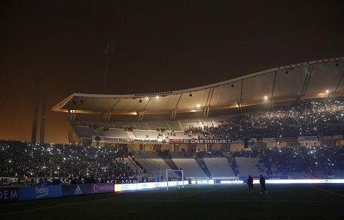 Sosyal medyada gündem Olimpiyat Stadı'nda kesilen elektrikler
